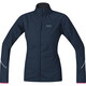 GORE RUNNING WEAR Essential WS Partial AS Jacket Women black iris/raspberry rose